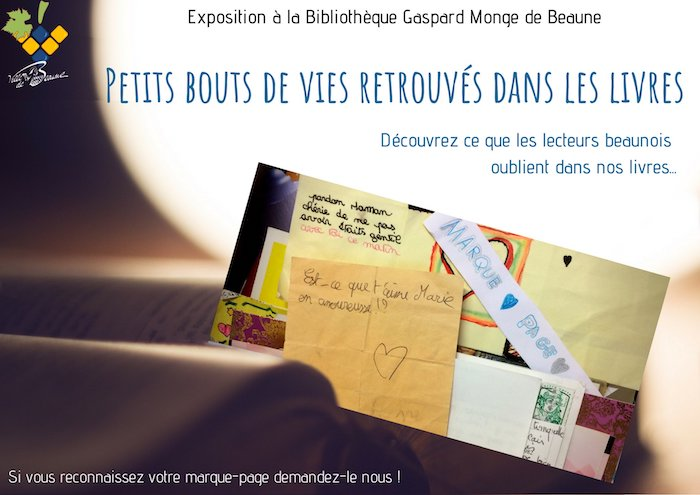 exposition marques pages beaunes